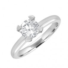Platinum Solitaire FVS2 Diamond