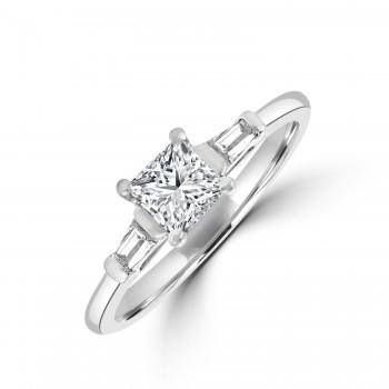 Platinum Princess DSi2 Diamond Solitaire Ring