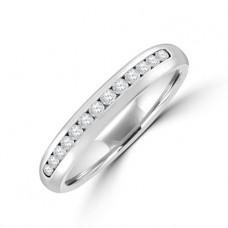 Platinum 13-stone Diamond Wedding Ring
