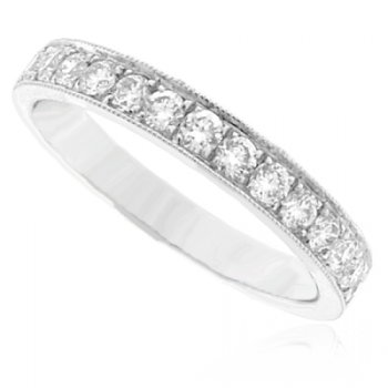 Platinum 17-stone Diamond Eternity Ring