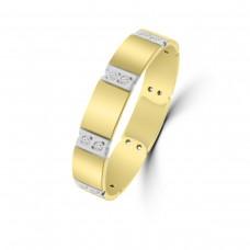 9ct Yellow Gold Diamond Wedding Ring
