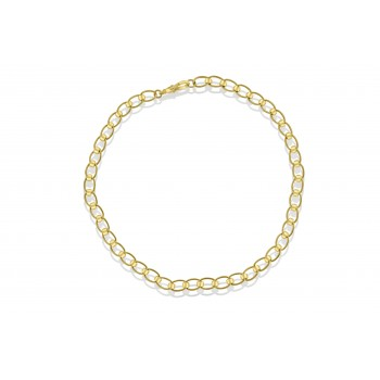 9ct Gold Open Rollerball Chain