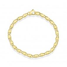 9ct Gold Stud Bracelet