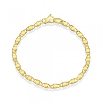 9ct Gold Stud Bracelet